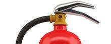 Brandsläckare mediakriser