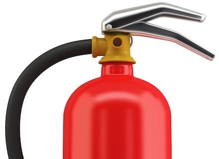 Brandsläckare för små och mellanstora företag i mediekris