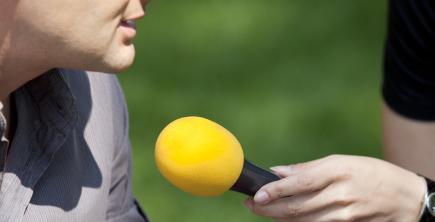 I en bra PR-strategi ingår att träna på intervjusituationer