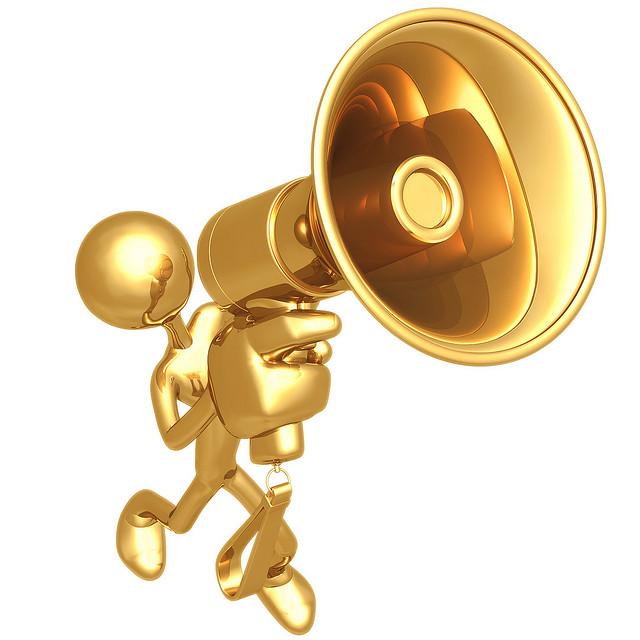 Bild guldmegafon.